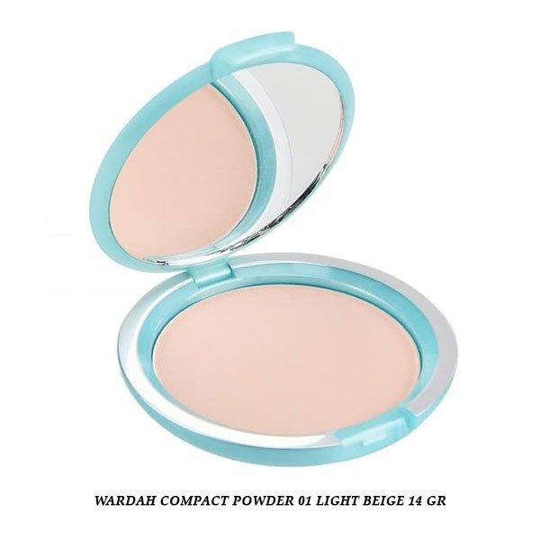 Wardah Compact Powder 01 Light Beige 14 gr
