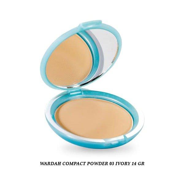 Wardah Compact Powder 03 Ivory 14 gr