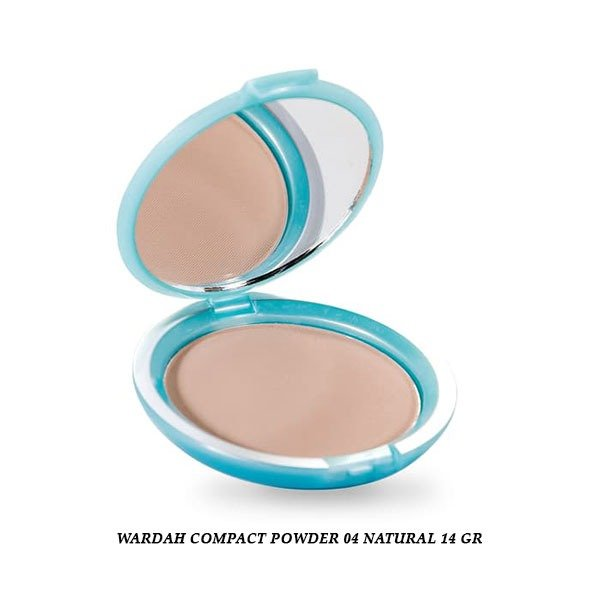 Wardah Compact Powder 04 Natural 14 gr
