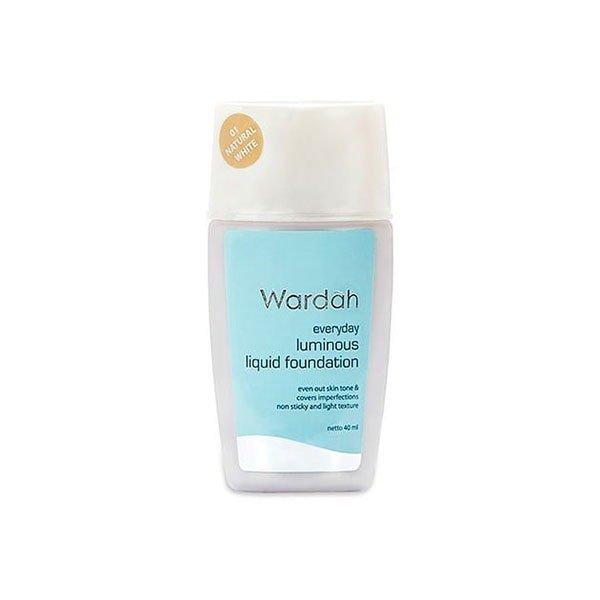 Wardah Everyday Luminous Liquid Foundation 01 40 ml