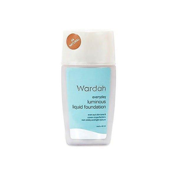Wardah Everyday Luminous Liquid Foundation 04 40 ml