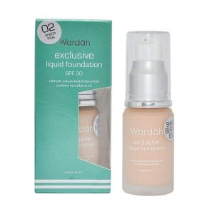 Wardah Exclusive Liquid Foundation 02 20 ml