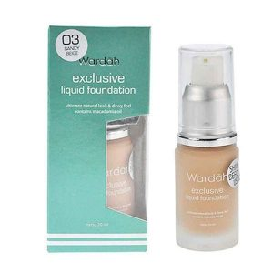 Wardah Exclusive Liquid Foundation 03 20 ml