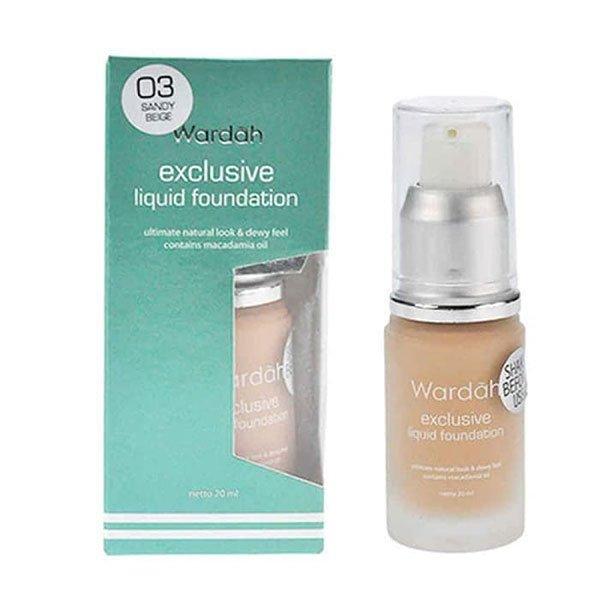 Wardah Exclusive Liquid Foundation 03 20 ml