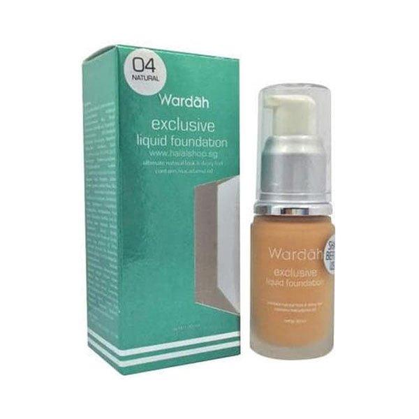 Wardah Exclusive Liquid Foundation 04 20 ml