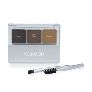 Wardah Eyexpert Eyebrow Kit
