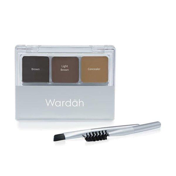 Wardah Eyexpert Eyebrow Kit
