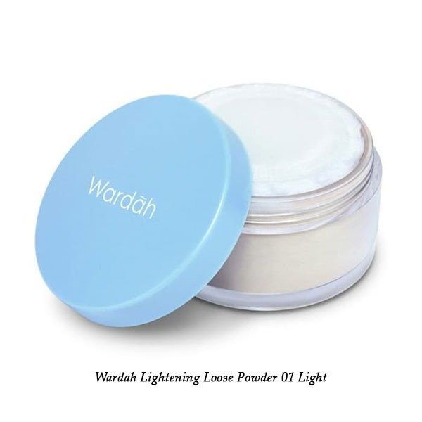 Wardah Lightening Loose Powder 01 Light Beige 20 g