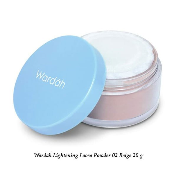Wardah Lightening Loose Powder 02 Beige 20 g ⋆ Distributor