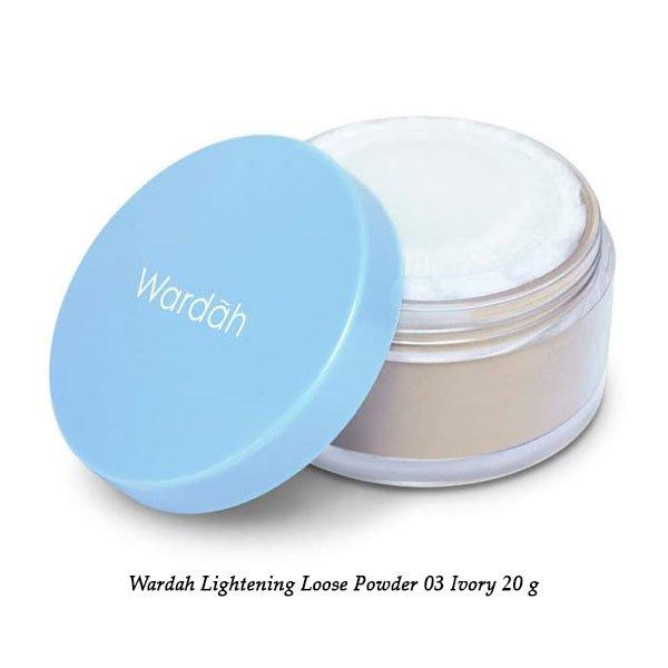Wardah Lightening Loose Powder 03 Ivory 20 g