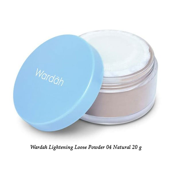 Wardah Lightening Loose Powder 04 Natural 20 g