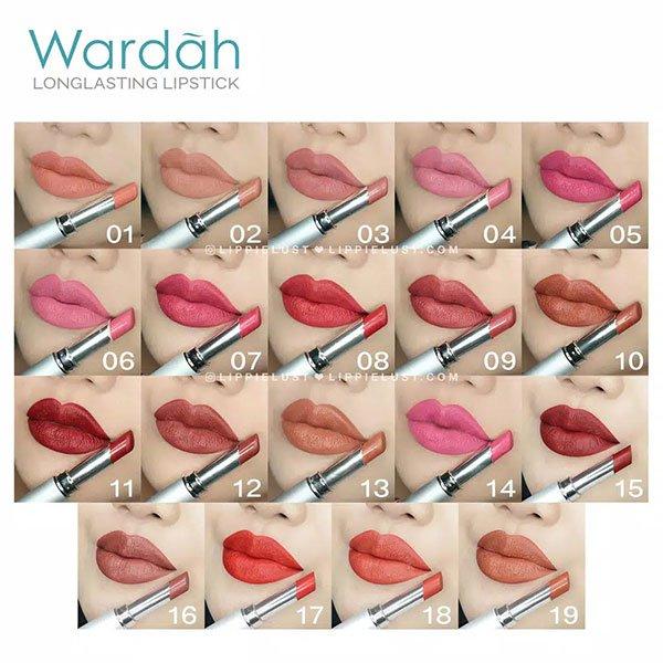 Wardah Long Lasting Lipstick 2.3 gr