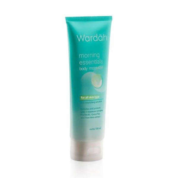 Wardah Morning Essentials Body Moist 100 ml