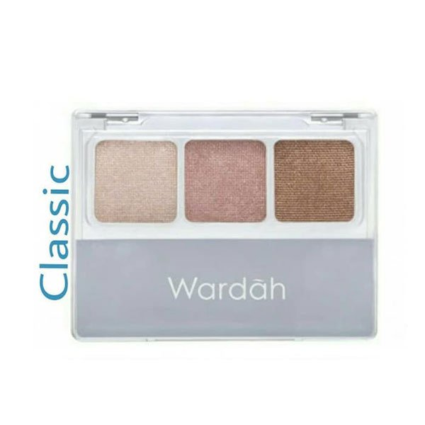 Wardah Nude Colours Eyeshadow Classic 3.3 gr ⋆ Distributor