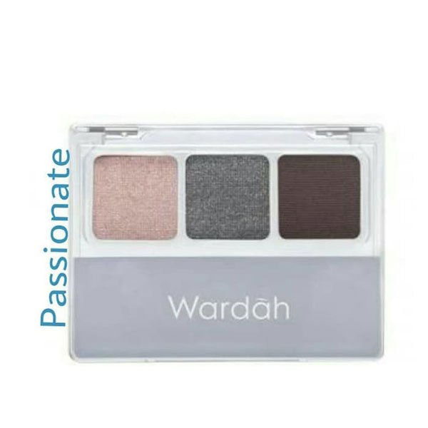 Wardah Nude Colours Eyeshadow Passionate 3.3 gr
