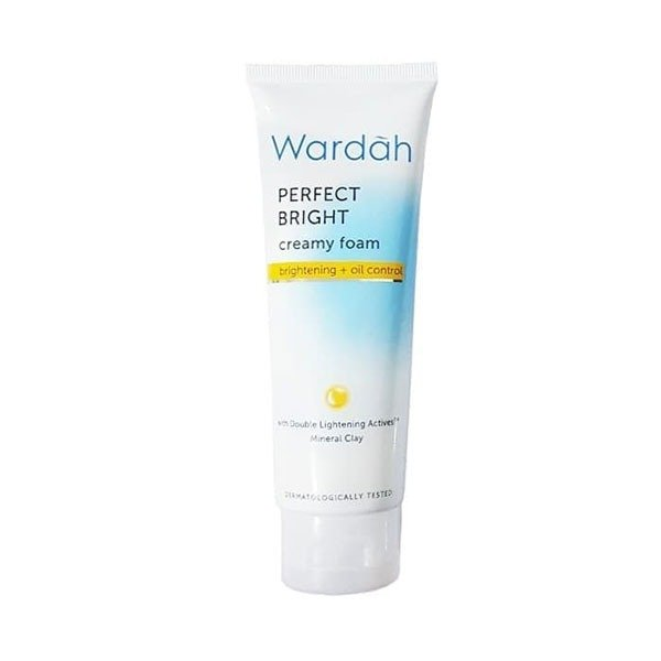 Wardah Perfect Bright Creamy Foam Brightening oil control 100 ml