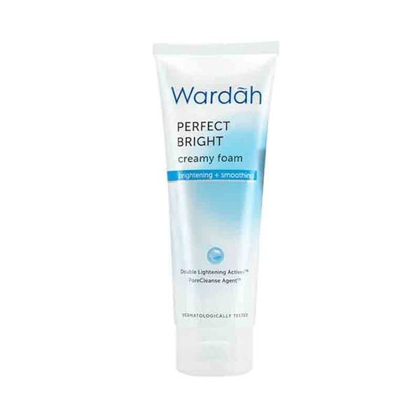 Wardah Perfect Bright Creamy Foam Brightening Smoothing 60 ml