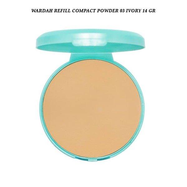 Wardah Refill Compact Powder 03 Ivory 14 gr