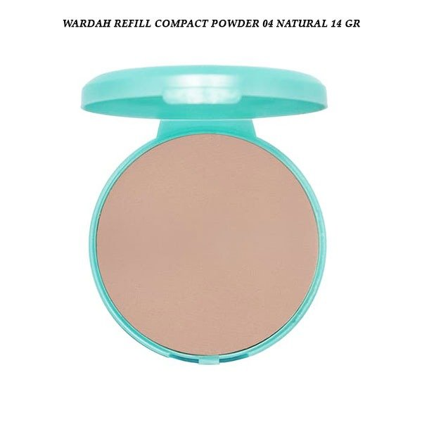 Wardah Refill Compact Powder 04 Natural 14 gr