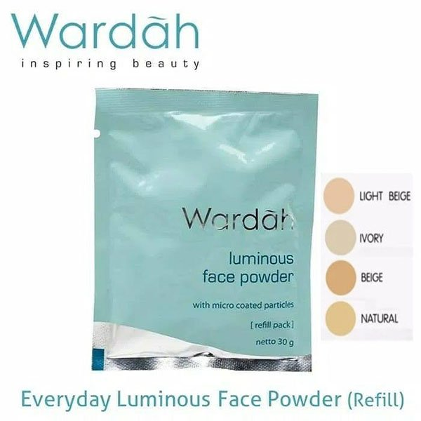 Wardah Refill Everyday Luminous Face powder