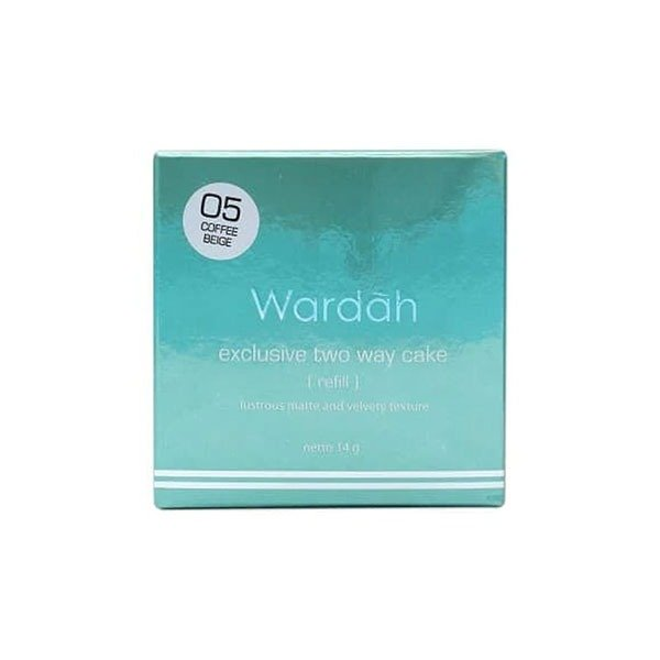Wardah Refill Exclusive Two Way Cake 05 Coffee Beige 12 gr