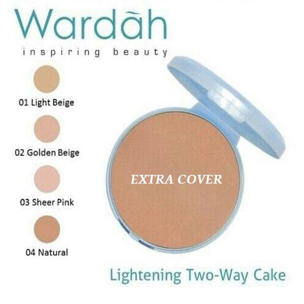 Wardah Refill Lightening Two Way Cake (TWC) Extra Cover