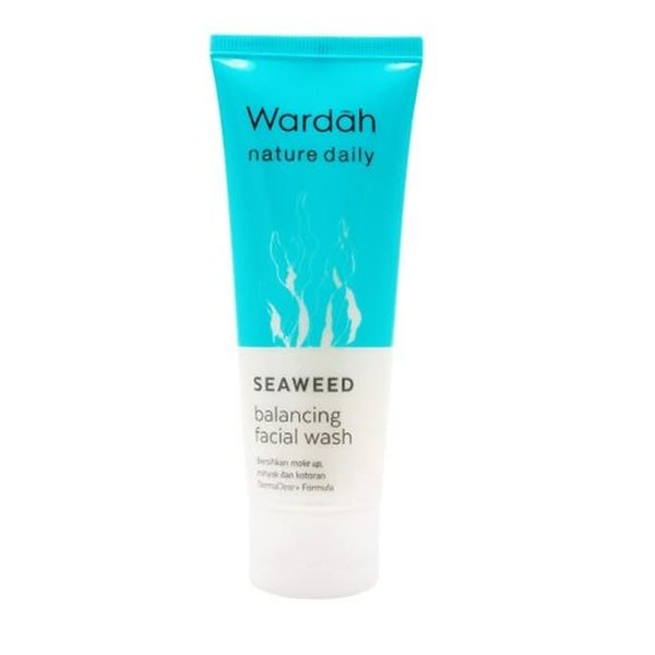 Wardah Seaweed Balancing Facial Wash 60 ml