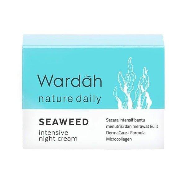 Wardah Seaweed Intensive Night Cream 30 gr