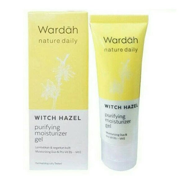 Wardah Witch Hazel Purifying Moisturizer Gel 40 ml