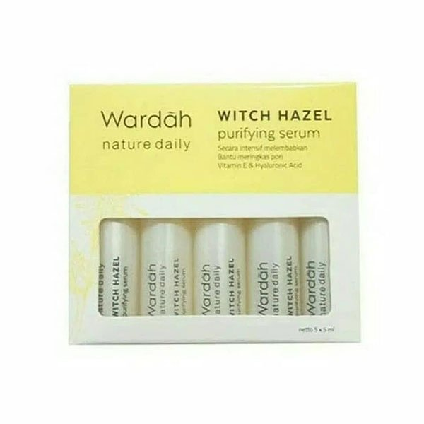 Wardah Witch Hazel Purifying Serum 5x5 ml