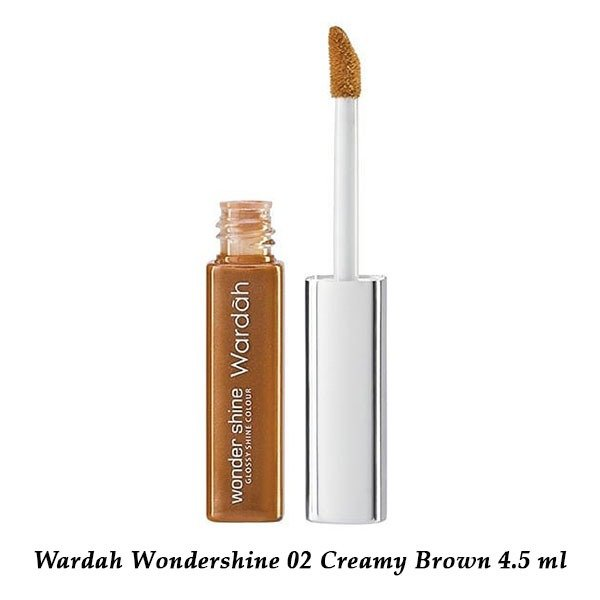 Wardah Wondershine 02 Creamy Brown 4.5 ml
