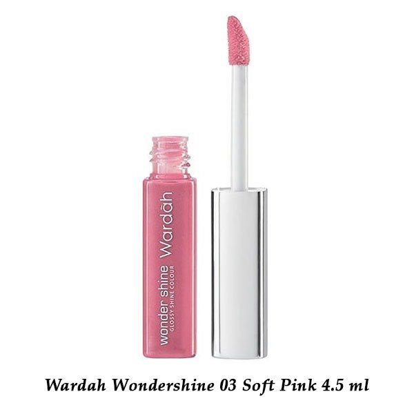 Wardah Wondershine 03 Soft Pink 4.5 ml