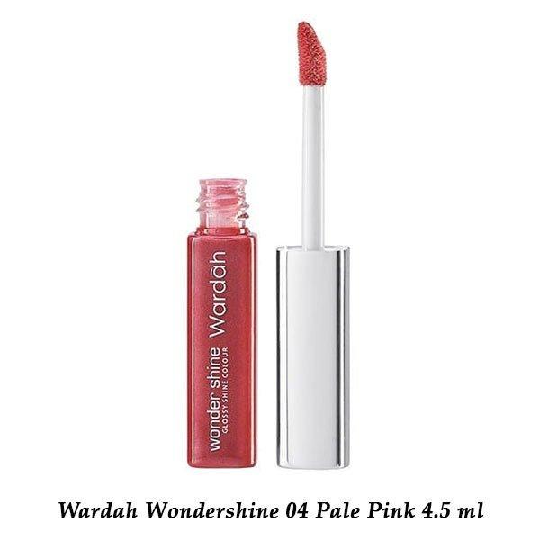 Wardah Wondershine 04 Pale Pink 4.5 ml