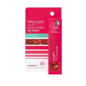 Wardah-Everyday-Fruity-Sheer-Lip-Balm-Strawberry-4-gr