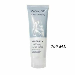 Wardah-Nature-Daily-Mineral-+-Clarifying-Facial-Foam-100-ml