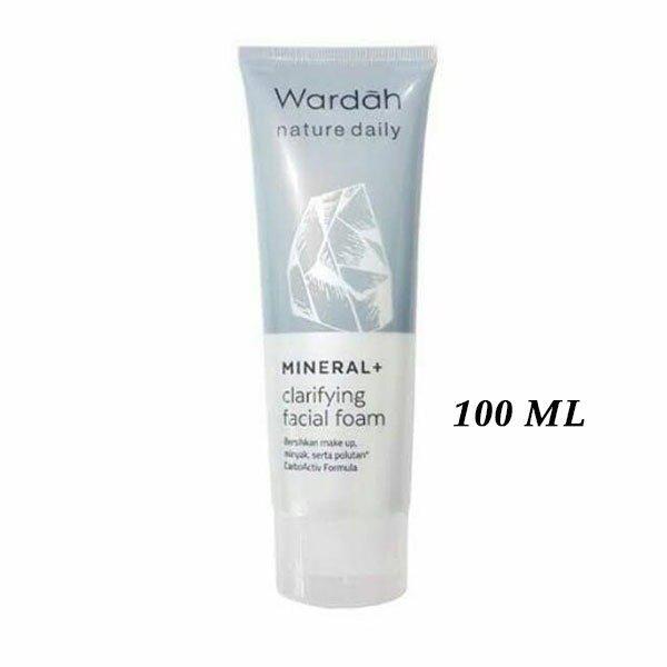 Wardah-Nature-Daily-Mineral-+-Clarifying-Facial-Foam-100-ml